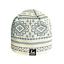 SAMII Jacquard Argyle Knit Beanie Cap Hat-Blue (0016) (Start From 20 Units)-Free Shipping