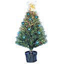 Blue LED Pre-lit Potted Christmas Tree, 90CM (GQ-004) (Start From 5 Units)-Free Shipping