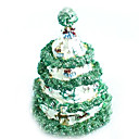 mooie kerst-boom sieraden doos / trinket box (QTS-003) (vanaf 10 stuks)-gratis verzending