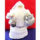 Silver Santa Clause Christmas Ornament (LR048) (Start From 30 Units)-Free Shipping
