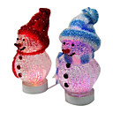 1 PC USB Powered Miniature Desktop Snowman+LED,10CM (SDBC002) (Start From 300 Units) Free Shipping