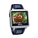 "2GB Widescreen MP4 Player Watch-1.5""TFT Display / Waterproof Function/Blue S828-3"