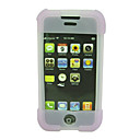 Pink Silicone Silicon Skin Cover Case for Apple iPhone(ip034)
