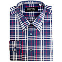 Top Grade Men's Long Sleeve Twill Wrinkle Dress Shirt (QRJ012-4) -Free Shipping by Air Mail