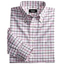 manga larga botn de la camisa oxford para los hombres (chs011) (inicio de 5 unidades)-el envo gratuito