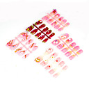 50 PC Special Design Art Acrylic False Nails Tips  (Start From 10 Units)