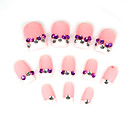 12 PC Special Design Art Acrylic False Nails Tips  (Start From 20 Units)