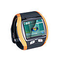 Q007 orologio cellulare con bluetooth e fotocamera - nero arancio