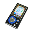 4 GB da 1,8 pollici mp3 / mp4 player con radio FM m4075 (a partire da 5 unit) spedizione gratuita