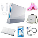 gratis verzending! nintendowii + Wii Fit + Wii-afstandsbediening +4 controllers meer (h) by29