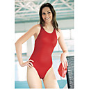 Regular Athletic One Piece Hi-neck Slender Swimwear (YZ8485H)