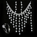 Kendra Wedding Jewelry 4 piece Set (TYPJ017) (Start From 10 Units) Free Shipping