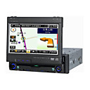 7-inch Touch Screen 1 Din In-Dash Car DVD Player Built-in GPS System SH-DV7552