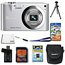 Casio EXILIM EX-Z100 10.3MP Digital Camera + 2GB SD Card + Extra Battery + 6 Bonus