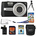 Fujifilm Fuji FinePix j50 8.2MP Digital Camera + 2GB SD Card + Extra Battery + 6 Bonus