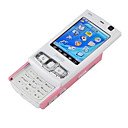 Unlocked Dual webcam MINI N95 FM  Cell Phone Pink (SZR046)