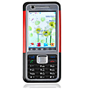 Quad Band Dual Sim Cell Phone K630i Black