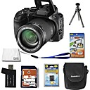 Fujifilm Fuji FinePix S100FS 11.1MP Digital Camera with 2.5-inch LCD+8GB SD+Battery+6 Bonus(SZW591)