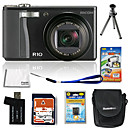 Ricoh Caplio R10 10.3MP Digital Camera with 3.0-inch LCD + 4GB SD + Battery + 6 Bonus (SZW629)