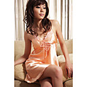 Lace Trim Nightgown Babydoll Lingerie A1034