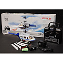 RC 4 Channel Rescue Chopper Co-Axial Helicopter RTF w/ Lipo Battery Radio Remote Control