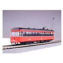 HO Scale Train Model_Digital White Street Car