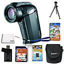 Sanyo Xacti VPC/DMX-HD1010 Full HD Digital Movie Camera with 2.7-inch LCD + 4GB SD + Battery + 6Bonu