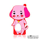 4gb cartoon dog mp3-Player rot (szm086)
