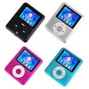 4 x 1gb 3gen colorido de 1,8 polegadas estilo ipod mp3 / mp4 player (qc006) transporte gratuito