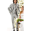 Two Button Single Breasted Notch Lapel Tuxedo Package / Jacket Pants & Vest /Black Tie ( SSP002 )