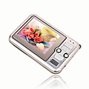 2gb 2,4-inch mp3 / mp4-spelers met digitale camera zilver (szm171)