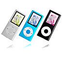 16 x 2gen 1GB/2GB/4GB colorido de 1,8 polegadas estilo ipod mp3 / mp4 player (qc019) transporte gratuito