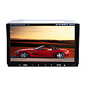 7-inch Touch Screen 2 Din In-Dash Car DVD Player Support Ipod Built-in GPS System Dual Zone AK-7003I