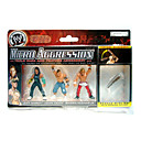 3pcs WWE Wrestling-Professional Action Figure with Color Box/ JEFF HARDY, JOHN CENA, SHAWN MICHAELS