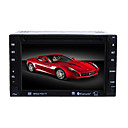 6,2-pouces  cran tactile 2 din dans le tableau de bord voiture lecteur dvd tv et la fonction bluet
