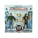 wwe wrestling professionnels ZIM et morrison action figure à la case de couleur