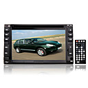 6,2-pouces  cran tactile 2 din dans le tableau de bord voiture lecteur dvd tv et fonction bluetoot