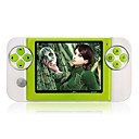 4GB 3.5 Inch Digital Game MP4 Player With FM/Digital Camera Green(MXQ021)