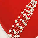 Elegant Five Strands Freshwater Pearl Bracelet (SZY1800)