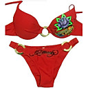 Hot Popular Two Piece Bikini Swimwear Swimsuit, Size M, L, XL (AMS038)