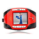 F3 Tri-band (GSM 900/1800/1900) Watch Style Cell Phone Red-black (SZR140)