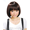 Capless Short Synthetic Brown Bob Hair Wig