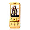 CHANGHONG 9B28(K218) Dual Card Cell Phone Touch Screen Gold
