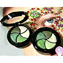 20pcs Korea Flower 5 Colors Green Series Eyeshadow Palette