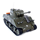 M4A3 Sherman 1:30 Radio Remote Controlled RC Battle Tank RTR (YX00539)