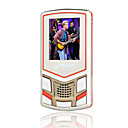 1gb 1.8 pollici altoparlante elegante MP4/MP3 player (txy005)
