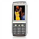 K73 Quad-Band Dual Card TV Function Mobile Phone Black(SZSH0009)