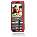 JINGPENG GBN008BF Dual Card Cell Phone Black&Red(SZRW306)