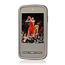 MINI5800(KA09) Dual Card Quad Band Ultra-thin Flat Touch Screen Cell Phone Black