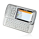 N97i QWERTY Keyboard Slide Phone Silver
